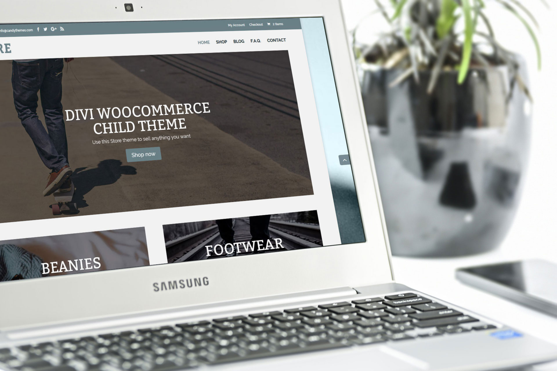 Store is available now, a brand new ecommerce Divi child theme